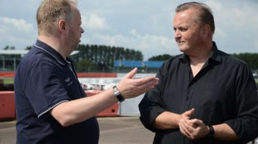 Aston Martin Rapide E - Andy Palmer and Steve Fowler