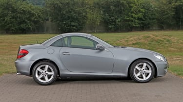 Used Mercedes SLK - side