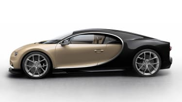 Bugatti Chiron - beige/black