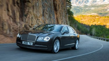 Bentley Flying Spur action
