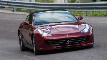 Ferrari GTC4 Lusso - front cornering