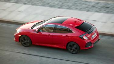 Honda Civic 1.6-litre diesel - above