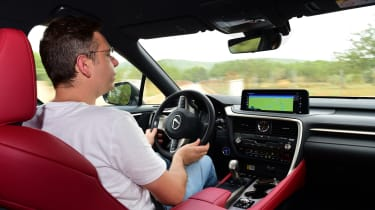 Lexus 450h F Sport - Hugo driving