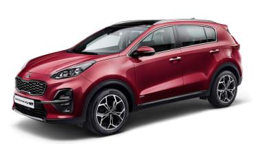 Kia Sportage 2018 facelift - front