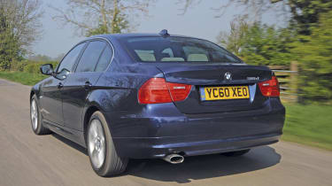 BMW 320d M Sport rear track