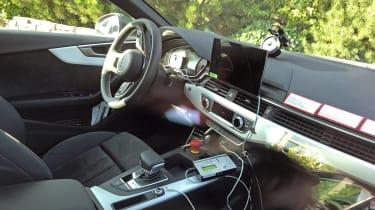Audi S5 Sportback - spyshot interior