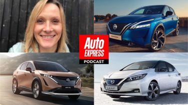 Auto Express podcast Nissan EV special