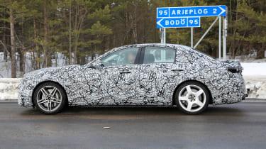 Mercedes-AMG C43 spy