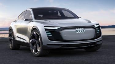 Audi e-tron Sportback concept - front