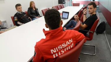 Nissan NISMO lab meeting