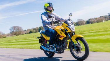 Best 125cc bikes - Honda CB125F