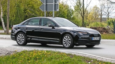 New Audi A4 2015 spy shots 1