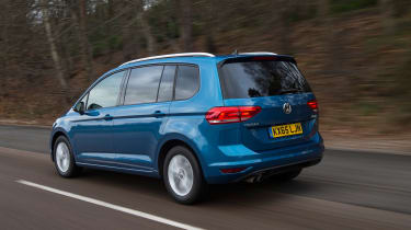 Volkswagen Touran - rear driving