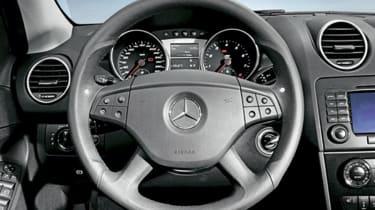 Mercedes ML63 AMG dashboard