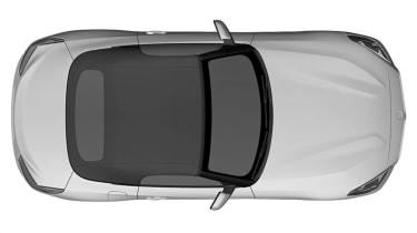 BMW Z4 sketch - above