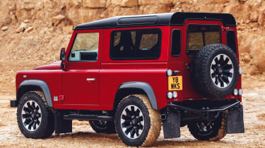 Land Rover Defender Works V8 - rear static