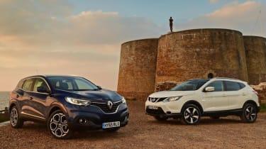 Renault Kadjar vs Nissan Qashqai