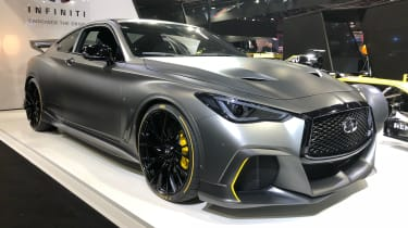 Infiniti Project Black S front quarter