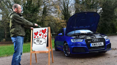 Audi RS3 long-term test - third report header