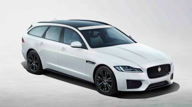 Jaguar XF Sportbrake Chequered Flag - front static