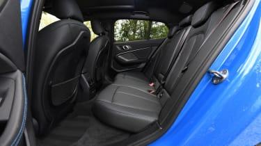 BMW 1 Series - rear seats