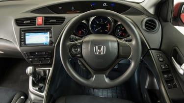 Honda Civic Mk9 - dash