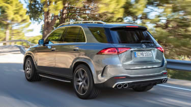 Mercedes-AMG GLE 53 - rear tracking