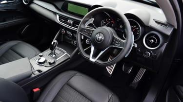 Alfa Romeo Stelvio Nero Edizione - dash