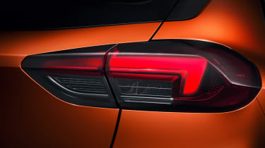 New Vauxhall Corsa-e official 2019n tail light