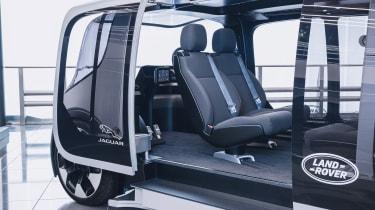 Jaguar Land Rover Project Vector - interior autonomous