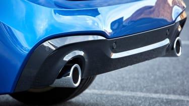 BMW 2 Series Active Tourer exhaust