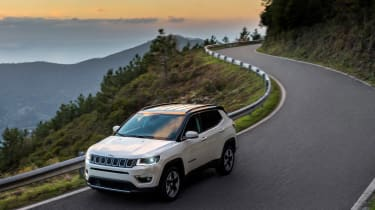 2017 Jeep Compass - driving wide image