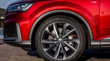 Audi Q7 55 TFSI - wheel