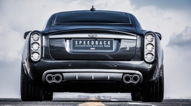 David Brown Automotive Speedback Silverstone edition exhaust tips