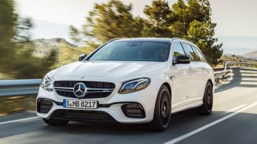 Mercedes-AMG E 63 Estate - front tracking
