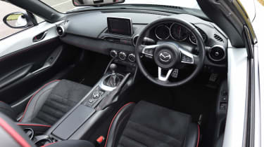 BBR Mazda MX-5 Turbo - dash
