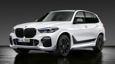 BMW X5 M Performance Parts - front static