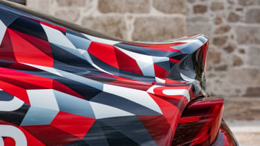 Toyota Supra prototype - rear spoiler