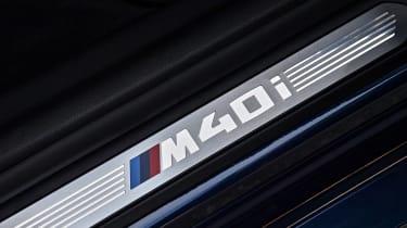 BMW X3 M40i - sill