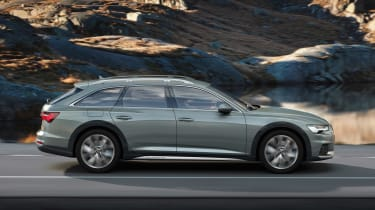 Audi A6 allroad quattro - side action
