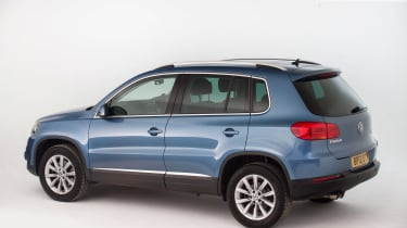 Used Volkswagen Tiguan - rear