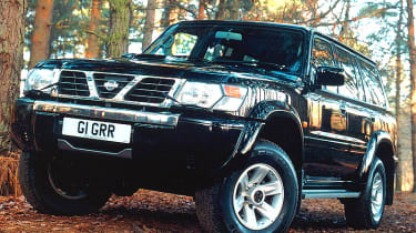 Front view of Nissan Patrol