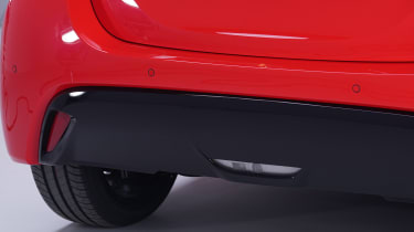 Toyota Yaris - rear diffuser studio