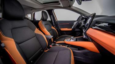 Renault Captur - front seats