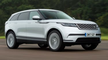Range Rover Velar - diesel front action