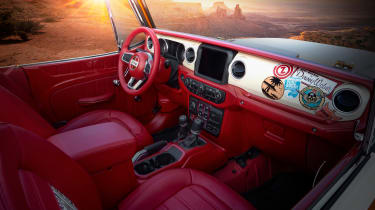 Jeep Magneto concept - interior