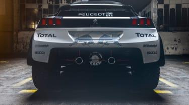 Peugeot 3008 DKR - rear