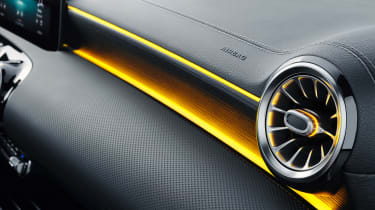 Mercedes CLA Shooting Brake - studio vent