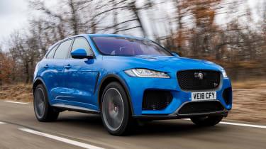 Jaguar F-Pace SVR - front tracking