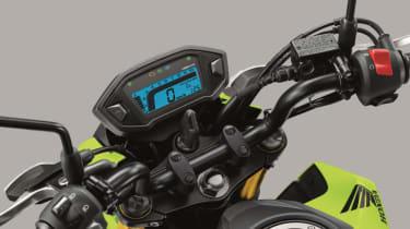Honda MSX 125 review - dash